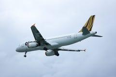 9V-TAQ Airbus A320-200 de Tiger Air Imagem de Stock