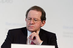 Vítor Constâncio, ECB Vice-President Stock Photography
