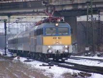 V43 trein twee royalty-vrije stock afbeelding