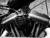 V Twin Engine Stock Images