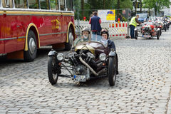 V-Twin three-wheelers, Morgan Super Sports Stock Photos