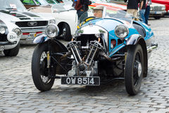 V-Twin three-wheelers, Morgan Super Sports Royalty Free Stock Image