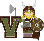 V is for Viking Royalty Free Stock Photo