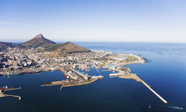 V&A Waterfront and Cape Town Harbour Royalty Free Stock Image