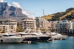 V&A yachts. Royalty Free Stock Photos