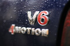V6logo stock photo