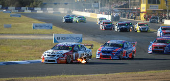 V8 Supercars Stock Photos