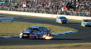 V8 Supercars Royalty Free Stock Images