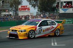 V8 SuperCars - Gold Coast. Image taken of a V8 SuperCars on the Gold Coast Track Royalty Free Stock Photos