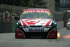 V8 SuperCars - Gold Coast. Image taken of a V8 SuperCars on the Gold Coast Track Royalty Free Stock Images
