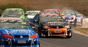 V8 Ute Racing 2013 Season Royalty Free Stock Photos