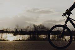 Va à vélo extérieur Image stock
