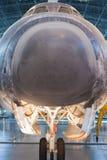 尚蒂伊美国, VA - 9月, 26日:发现号太空梭 图库摄影