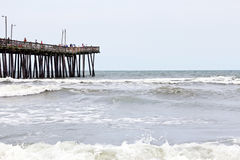 VA Beach Pier Royalty Free Stock Photography