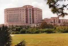 VA centrum medyczne - Zachodni palm beach, Floryda obraz stock