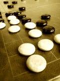 Va el juego o Weiqi Fotografía de archivo