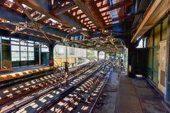 8va estación de metro del oeste de la calle - Brooklyn, NY Imagenes de archivo