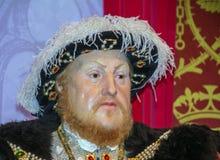 8va figura de cera de rey Henry en señora Tussauds Wax Museum Londres Fotos de archivo