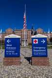 VA-Gesundheitszentrum-Eingang lizenzfreies stockbild
