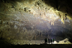 VA-Höhle und Nuoc-Nuss höhlen aus und erforschen Höhle 8 Stockbilder