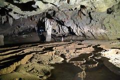 VA-Höhle und Nuoc-Nuss höhlen aus und erforschen Höhle 7 Stockbilder