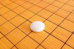 Va il gioco o il gioco da tavolo di cinese di Weiqi Fotografie Stock