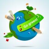 Va il verde Immagine Stock Libera da Diritti