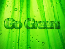 Va il verde Fotografia Stock Libera da Diritti