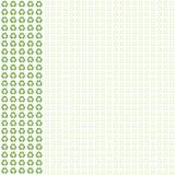 Va il verde ricicla la priorità bassa fotografie stock libere da diritti