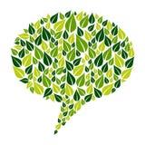 Va la campaña de marketing social verde stock de ilustración