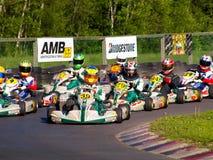 Va la corsa di Kart Fotografia Stock Libera da Diritti