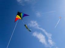 ¡Va la mosca una cometa! Foto de archivo libre de regalías