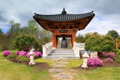 VA Meadowlark Regional Park Korean Garden photographie stock libre de droits