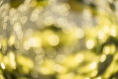 Vaag bokeh van nachtlichten Royalty-vrije Stock Foto