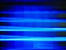 Vaag defocused blauwe lichte technologieachtergrond Stock Fotografie
