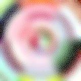 Vaag netwerk met fonkelende lijnen Stock Foto's
