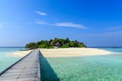 Vaagali wyspa Maldives wyspy Obrazy Stock