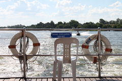 Vaal flod Sydafrika Fotografering för Bildbyråer