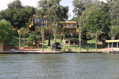 Vaal River South Africa Royalty Free Stock Images
