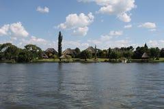Vaal rzeka Południowa Afryka zdjęcie stock
