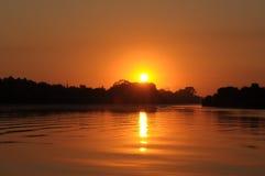 vaal soluppgång 9 Arkivfoto