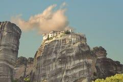 Vaalrlam monastery at Meteora Royalty Free Stock Image