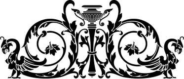 Vaas en harpij Royalty-vrije Illustratie