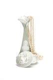 Vaas en kist met juwelen Stock Foto