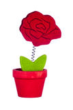 Vaas met bloem Royalty-vrije Stock Foto