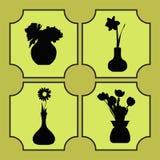Vaas van bloemen Stock Afbeeldingen