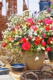 Vaas van bloemen Royalty-vrije Stock Foto's