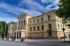 Vaasa Finland - konstgalleri Arkivbild