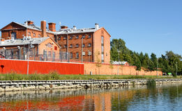 Vaasa prison (19th century) Royalty Free Stock Photos