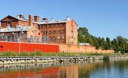 Vaasa prison (19th century) royalty free stock photos